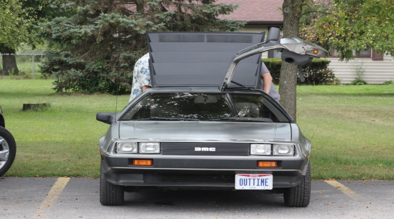 Man Restores DeLorean, Considering Making It Into Time